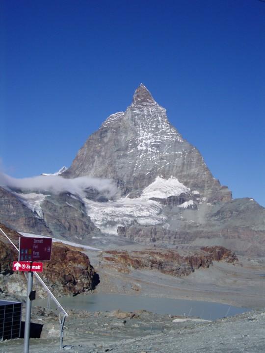 Matterhorn Schwarzsee`