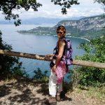 Afien op de Rocca di Garda