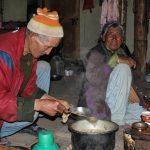 Bewoners van onze tweede home stay in Sumdah Chenmo