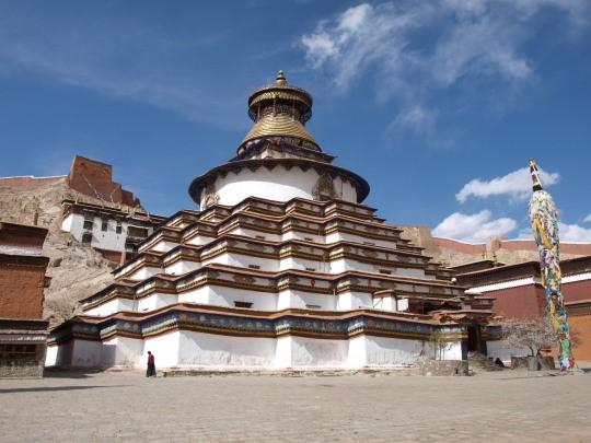 De Kumbum stupa