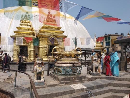 De Swayambhunath stupa