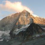 De noordwand van de Mont Blanc de Cheilon