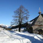 De oudste houten kapel van Duitsland in Rohrmoos