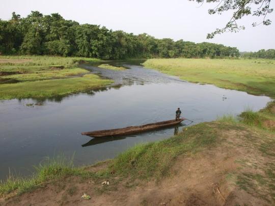 Een safari met de kano
