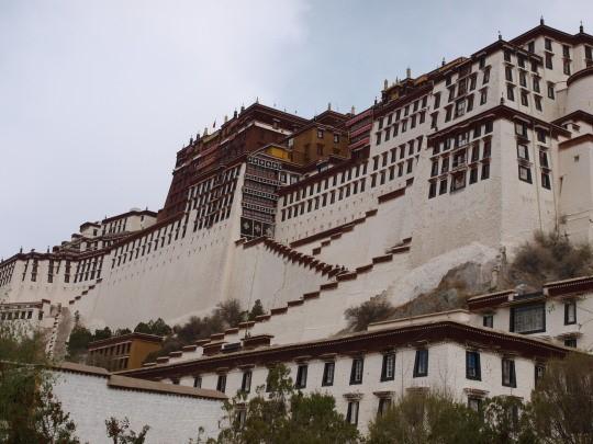 Het Potala paleis van de Dalai Lama
