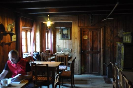 Interieur van de Wienerneustädterhütte