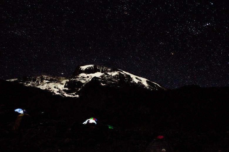 Kilimanjaro by night