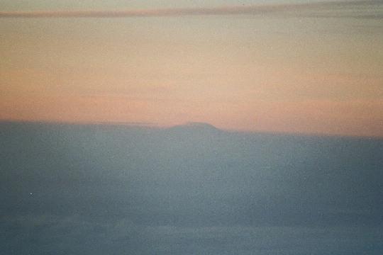 Kilimanjaro op 300 kilometer