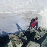 Maarten naar de top van de Mont Blanc de Cheilon