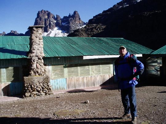 Maarten voor de Shiptonhut