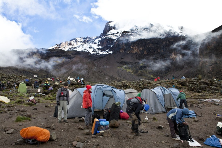 Ochtend in Barranco camp