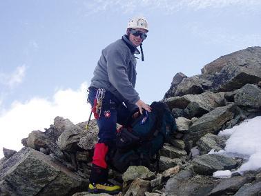 Otto op de graat Mt Blanc Cheilon
