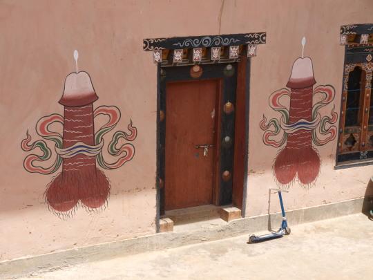 Penis van Lama Drukpa