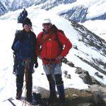 Tineke en Maarten op de Bärenkopf