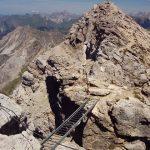 Trap op de Mindelheimer klettersteig