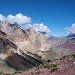 Uitzicht naar het westen vanaf de Dungduncheng La (4710 meter)