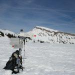 Zicht op de Hoher Ifen (2230 meter)