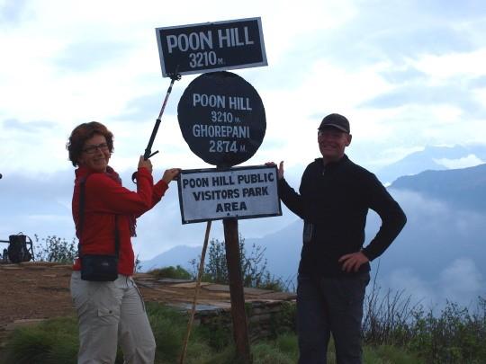 's Ochtensvroeg op Poon Hill