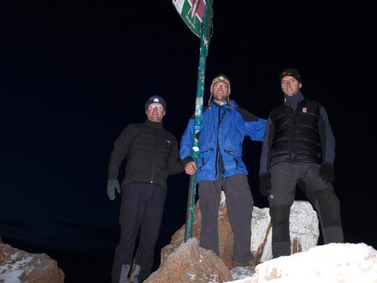 Mount Kenya Lenana