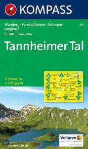 Kompass kaart Tannheimer