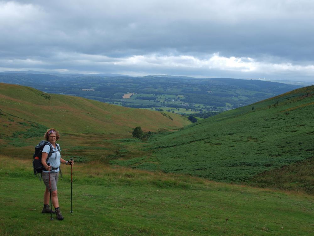 Afien over de heuvels naar Brompton