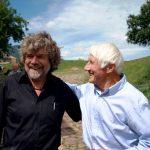 Bonatti met de andere Italiaanse grootheid Messner