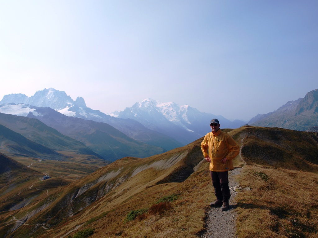 Mont Blanc vanaf l'Arolette
