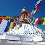 De twee ogen van Boeddha het symbool van wijsheid
