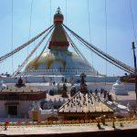 De stupa vanaf de Ajima tempel