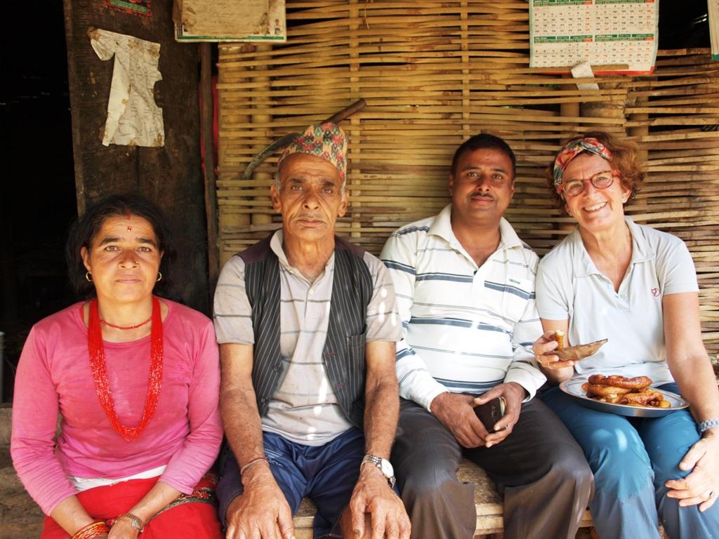 Op bezoek bij een boerenfamilie