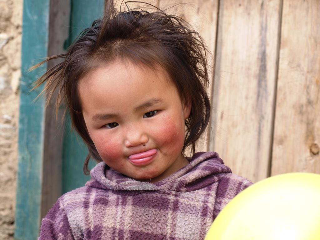 Meisje met ballon van Afien