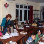 Classroom in de buitenschoolse opvang