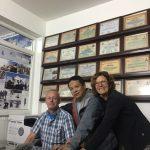Pasang kantoor met certificaten van beklimmingen boven de 8000 meter
