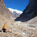 Toegang naar de Chhonggardan gletsjer