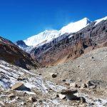 De Chhonggardan gletsjer