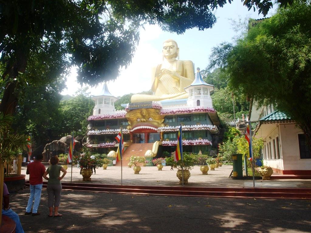 Boeddhatempel bij Dambulla