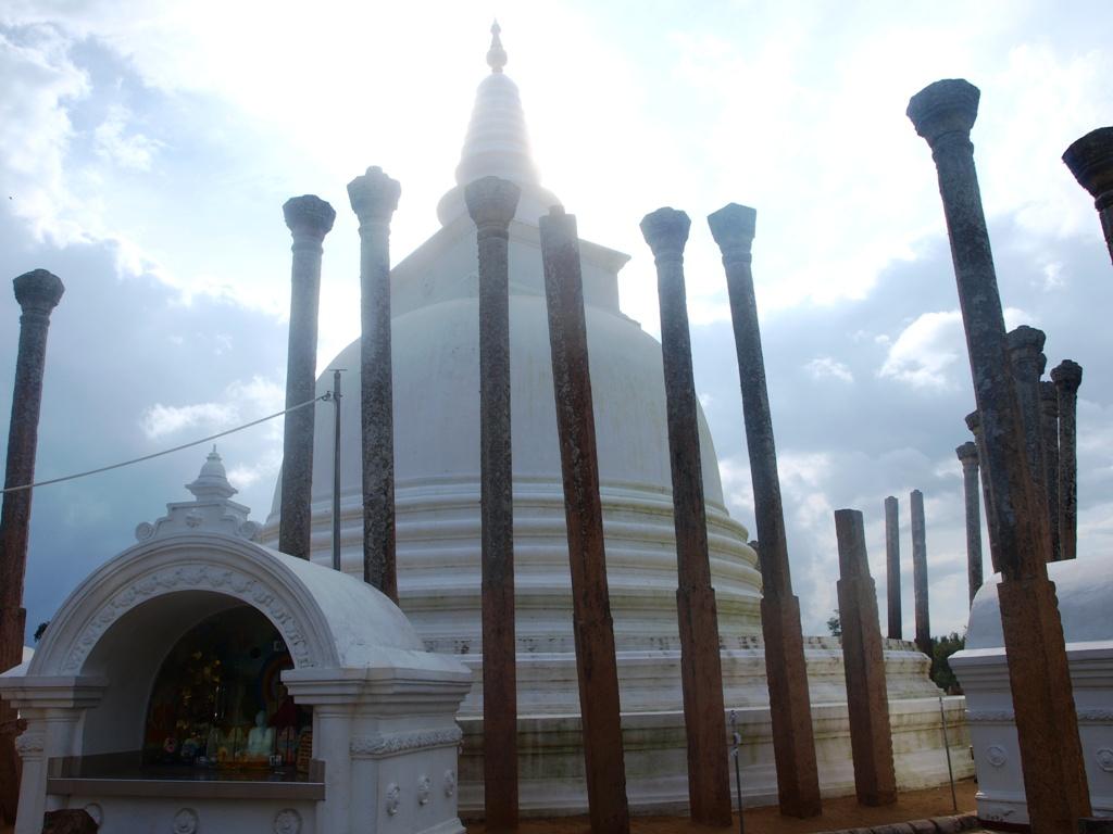 Dagoba bij Anaradnapura