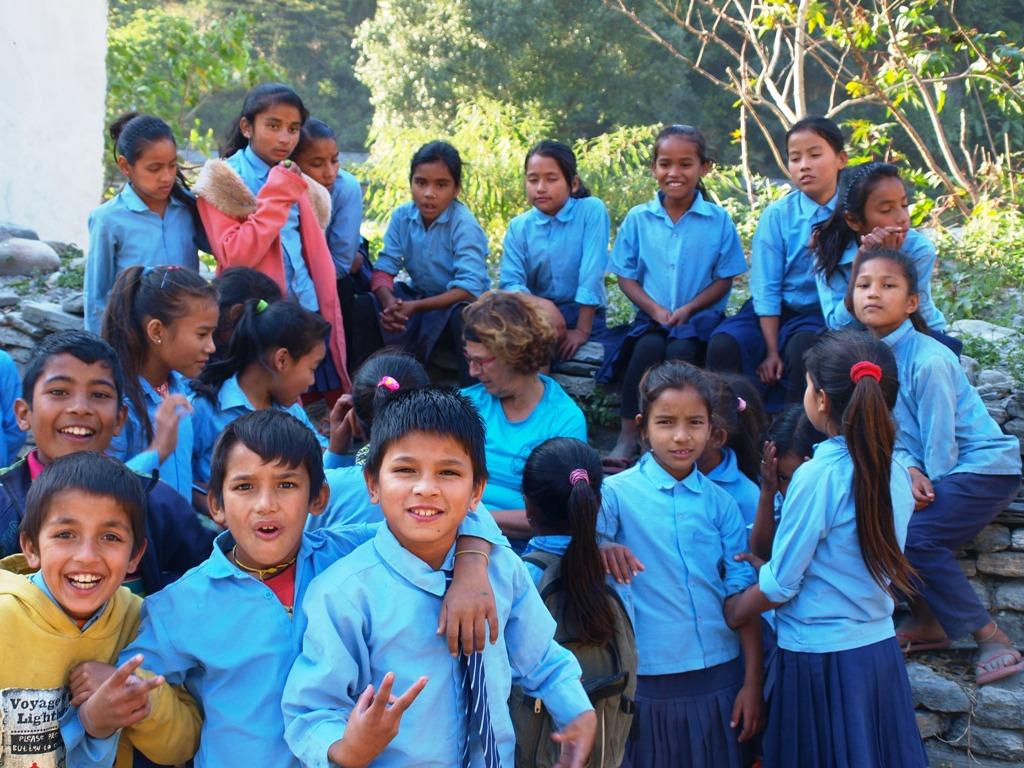 Kinderen van de school