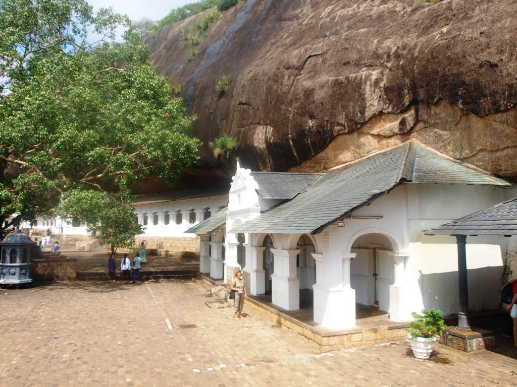 Ran Giri bij Dambulla rotstempels