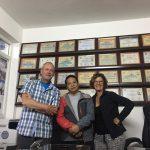 Kantoor van Pasang en alle certificaten voor beklimmingen van 8duizenders