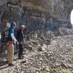 Jori & Marcel bij het begin van Sentiero Gustavo Vidi